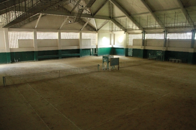 Indoor Tennis Court